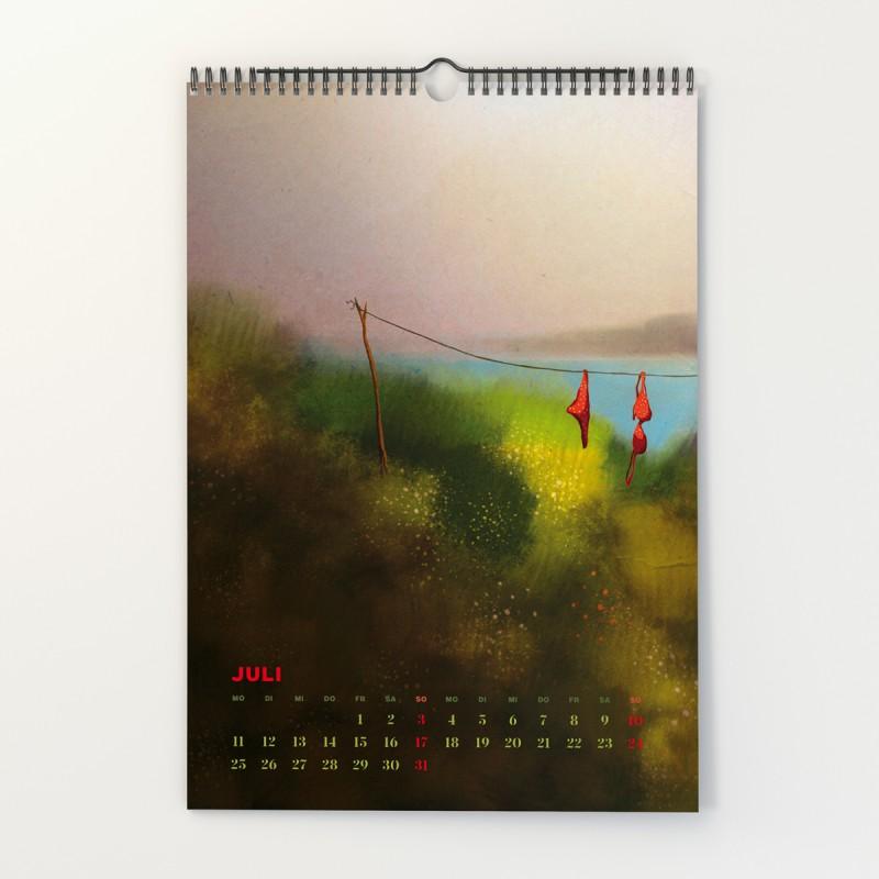 Mehrdad Zaeri - Wandkalender für 2022