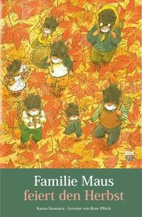 Familie Maus feiert den Herbst